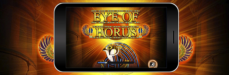 eye of horus online merkur slot mobile banner