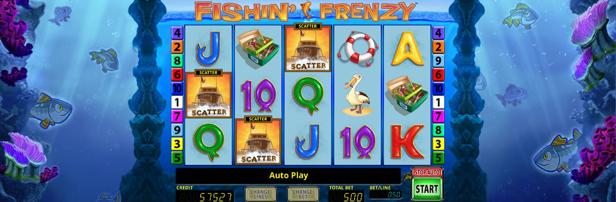 fishin frenzy merkur slot drei scatter