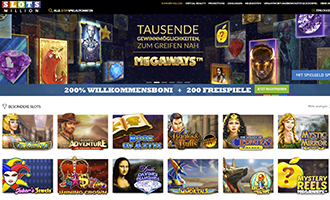 slots million online casino startseite