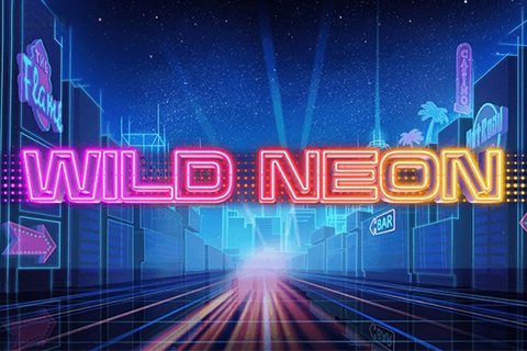wild neon push gaming slot teaser